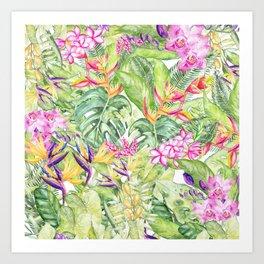 Tropical Garden 1A #society6 Kunstdrucke