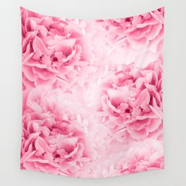 Light Red Peonies Dream #1 #floral #decor #art #society6 Wall Tapestry