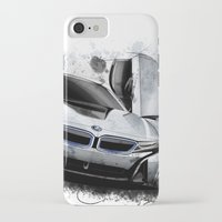 bmw iPhone & iPod Cases featuring BMW i8 by an.artwrok