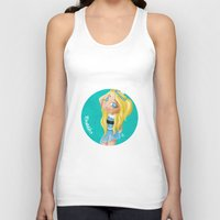 powerpuff girls Tank Tops featuring The Powerpuff Girls, Today. Bubbles (Fan Art) by The Rabbit Joe by The Rabbit Joe