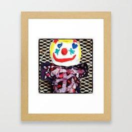 for the love of clowns Framed Art Print
