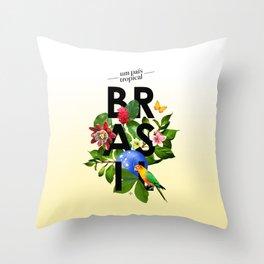 BRASIL Flora - CAPOEIRA RULES Throw Pillow