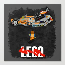 Everything is Awesome in Neo Tokyo Canvas Print