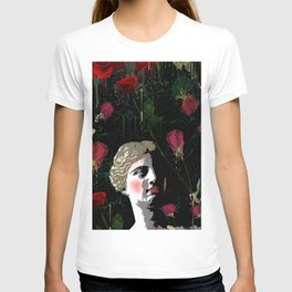 Aphrodite in the gardens T-shirt