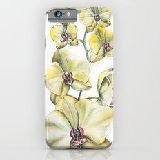 Yellow Orchid iPhone 6s Slim Case