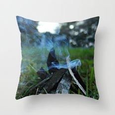 camp Throw Pillow