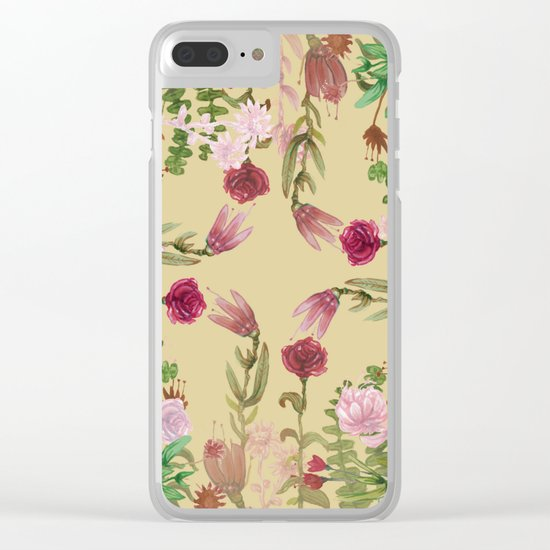 central nature collab. Clear iPhone Case