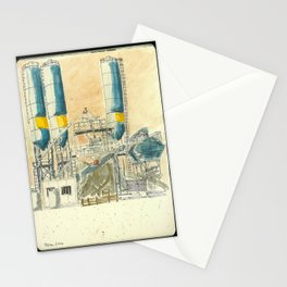Industrial Construction Stationery Cards