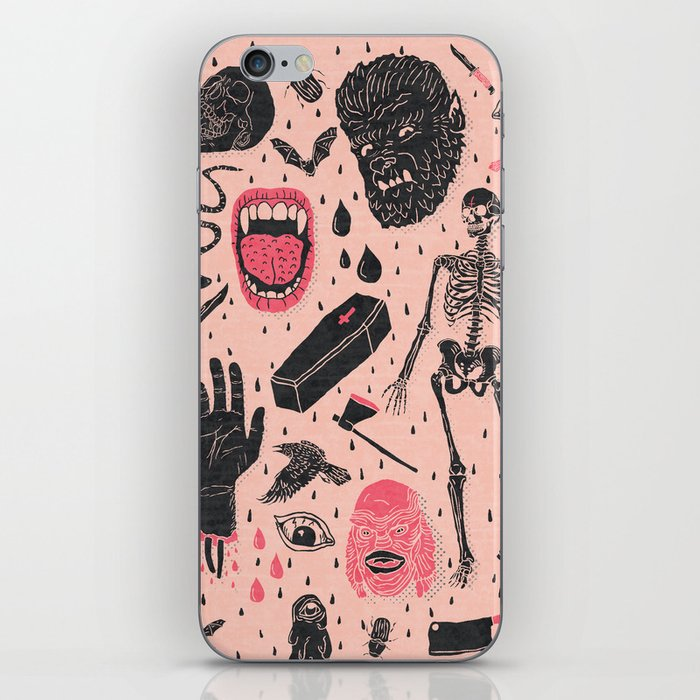 Whole Lotta Horror iPhone Skin
