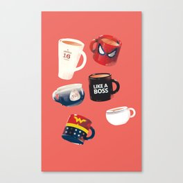 Workday Persona  Canvas Print
