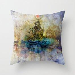 Shiva shankar Throw Pillow