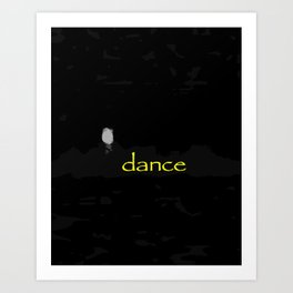 Dance (flame) Art Print