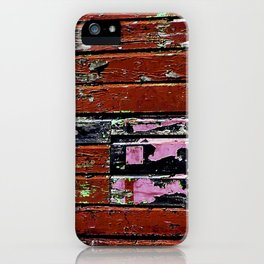 Battered old House Boat iPhone Case