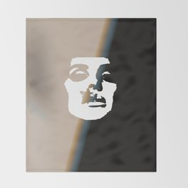 """""""Rock and Roll Me LDR"""" Throw Blanket"""