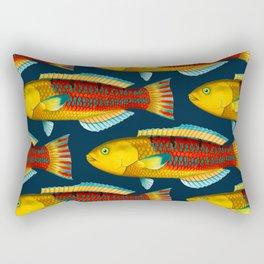 Julis fusca Rectangular Pillow
