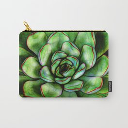 Graphic Succulent Carry-All Pouch