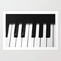 Piano Part 1 Art Print
