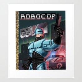 The Future of Law Enforcement Art Print