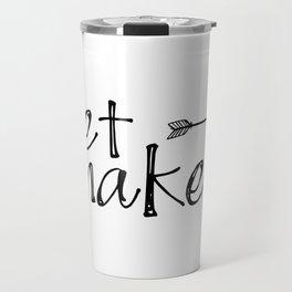 Get Naked Poster, Bathroom Decor, Gift for Friend, Gift for Him Travel Mug