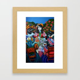"""Crows at a Tea Party"" Framed Art Print"