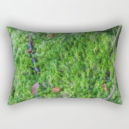 Moss in France Rectangular Pillow