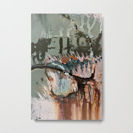 Corrosion Colors I Metal Print