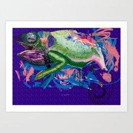 Chamaeleonidae Art Print