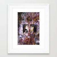 war Framed Art Prints featuring War by Javier Perello