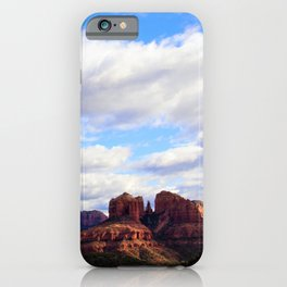 Cathedral Rock BIG SKY in Arizona by Reay of Light iPhone Case