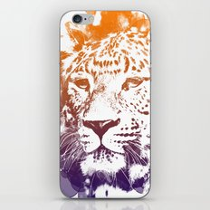 tiger lights iPhone & iPod Skin