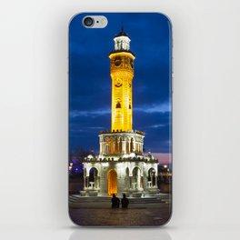 Clock tower. iPhone Skin