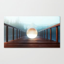 Lightdrop Canvas Print