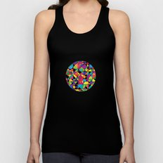 Abstract shapes Unisex Tank Top