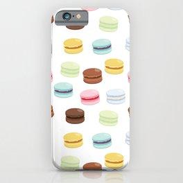 Sweet Macaroon Pattern iPhone Case