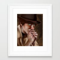 hetalia Framed Art Prints featuring Hetalia print 3 by Milkyol