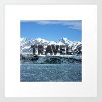 Travel - Mountains Art Print