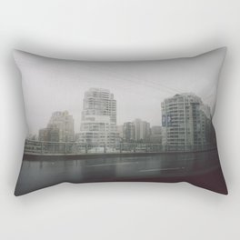 Rainy City Rectangular Pillow