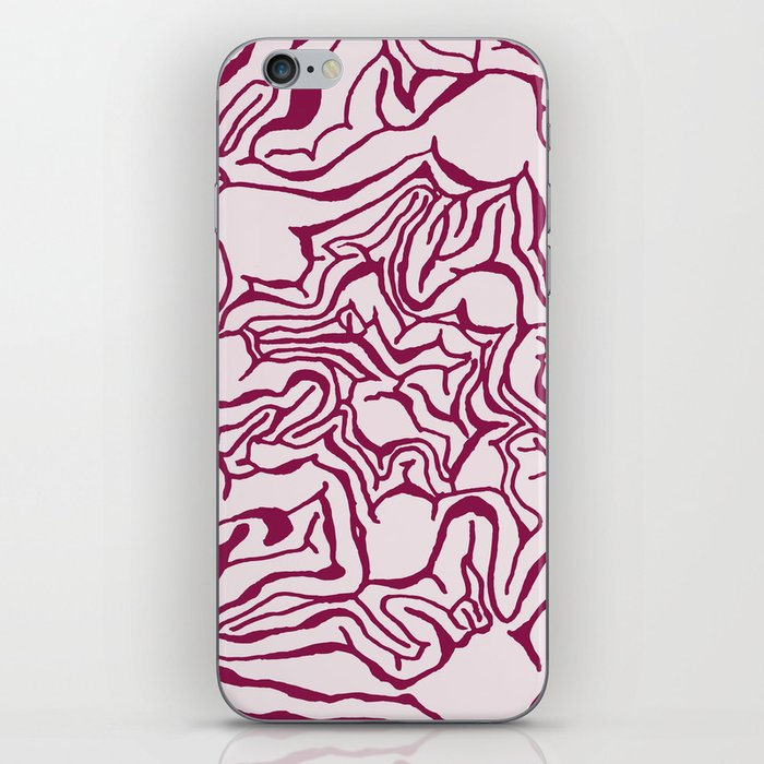 Cabbage Core iPhone Skin