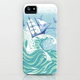 Sea Fever iPhone Case