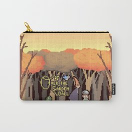 Over the Garden Pixel Carry-All Pouch