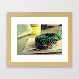 Doughnut Framed Art Print