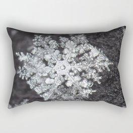 Sowflake closeup #4 Rectangular Pillow