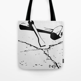 Chipping away Tote Bag