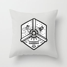Birthplace of Aviation - Neutral Throw Pillow