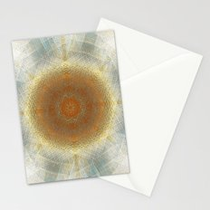 Trendy digital mandala Stationery Cards