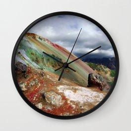 Landmannalaugar I Wall Clock