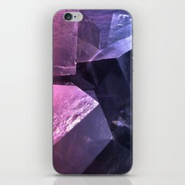 Cubic crystals iPhone Skin