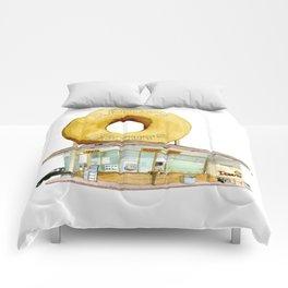 Randy's Donuts Comforters