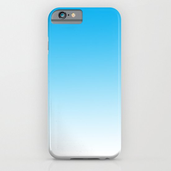 Blue Gradient iPhone & iPod Case