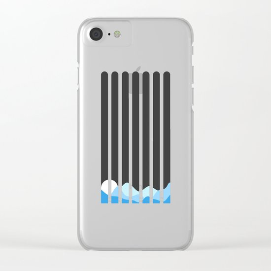 Good Night Clear iPhone Case